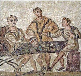 ~50 BC - Roman Yahtzee Mosaic