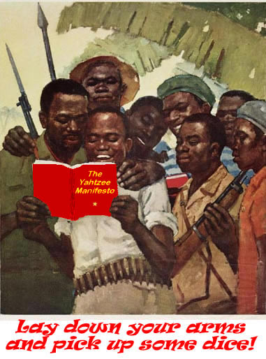 Yahtzee Propaganda Posters